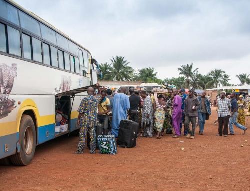 Carnet d'images du Bénin : Sur la route