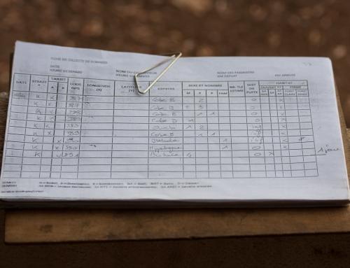 Carnet d'images du Bénin : Pendant la mission