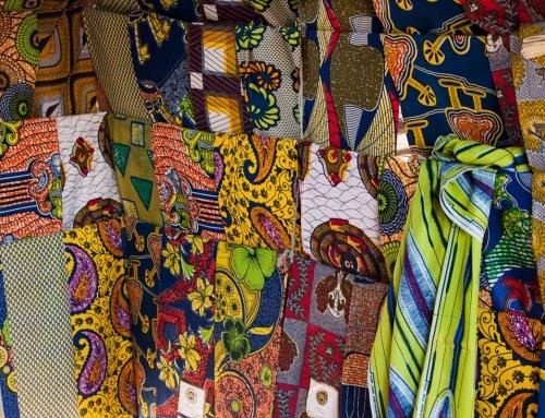 Carnet d'images du Bénin : Dans la ville de Tanguiéta