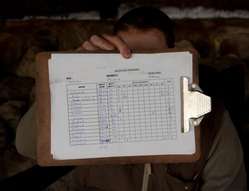 Mission d'écovolontariat : Comptage de 24h à Masuma Dam (2)