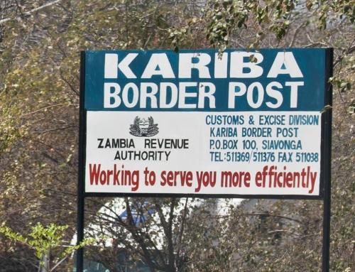 Traverser la frontière de la Zambie vers le Zimbabwe