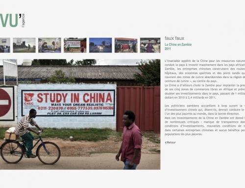 La Chine en Zambie, vue par l'agence VU