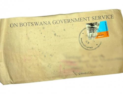 On a reçu une lettre du Botswana !