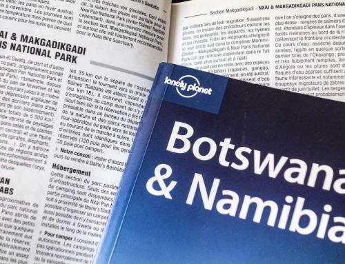 Aïe, y a pas de routard pour le Botswana …