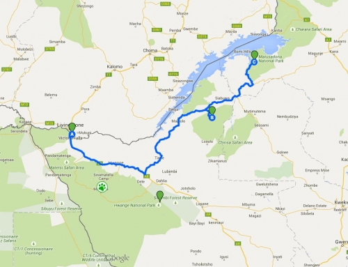 Itinéraire final au Zimbabwe : de Chizarira à Matusadona