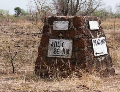 Carnet d'images du Bénin : Le poste d'Arly