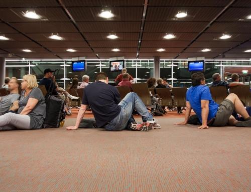 Départ en Zambie : Aéroport en heures troubles